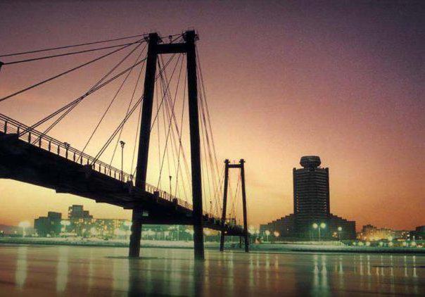 Мост через Енисей 2, оригинал