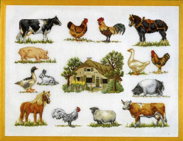 Домашние животные, коллаж