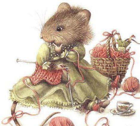 Мышка-рукодельница, оригинал