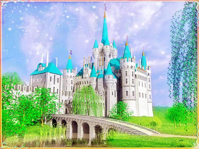 Сказочный замок,