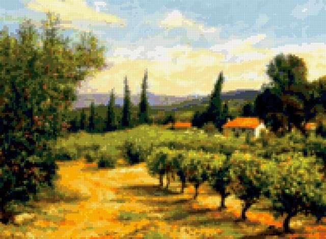 Пейзажи Италии, предпросмотр