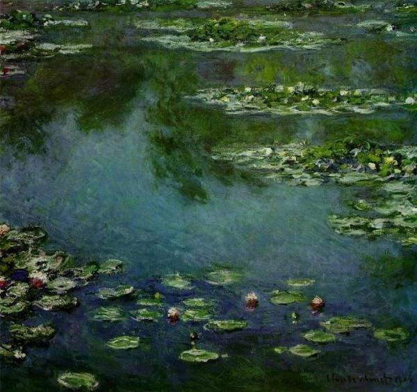 К.Моне - Водяные лилии,
