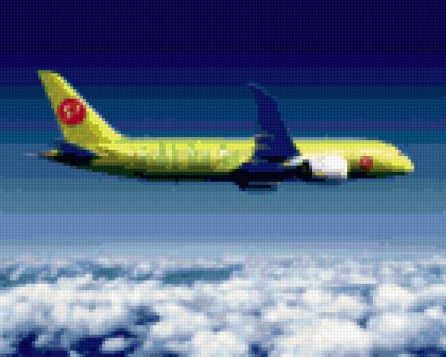 Самолет S7, предпросмотр