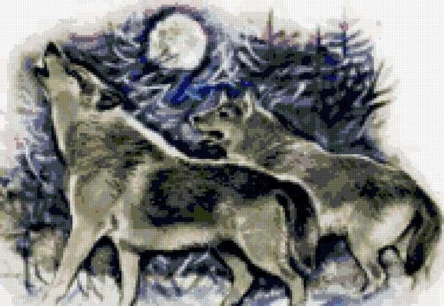 Волки и полнолуние