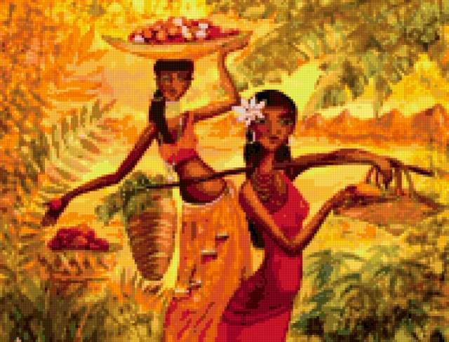 Африканки, африка, девушки