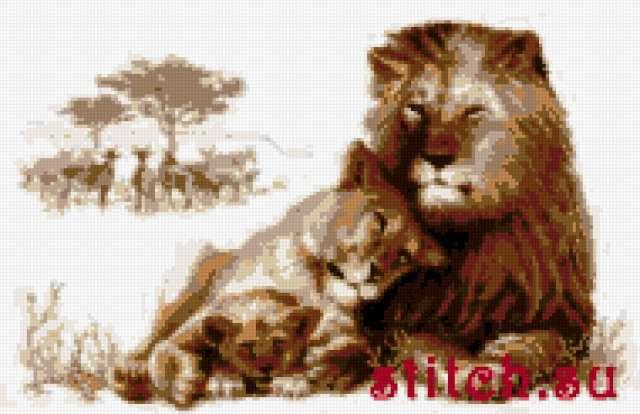 Львиный рай, предпросмотр