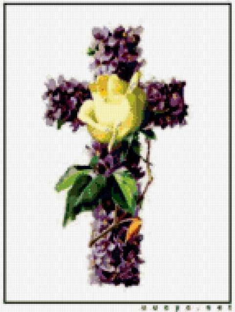 Пасха.Крест, предпросмотр