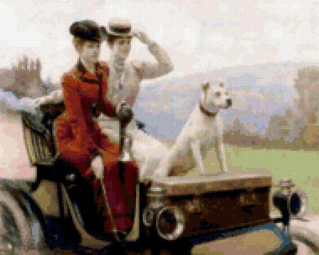 Дамы в коляске, предпросмотр