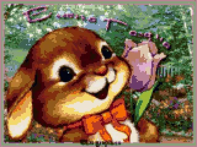 Пасха - Кролик, предпросмотр