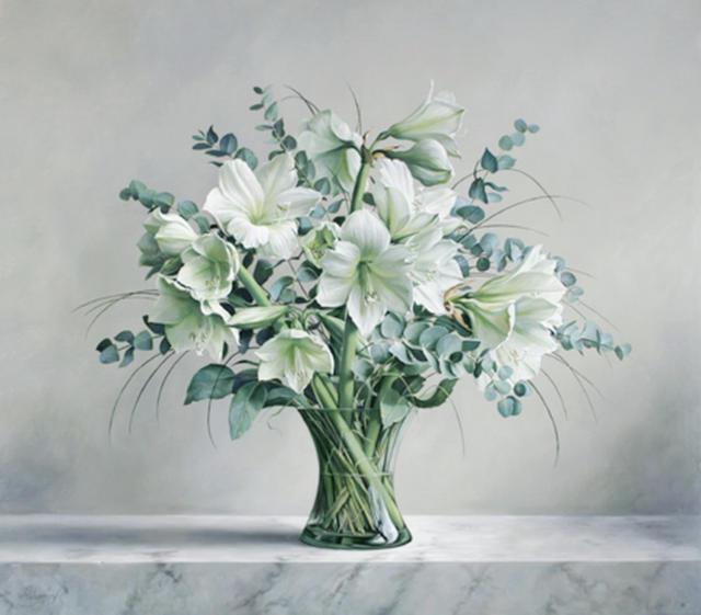 Стильный букет, цветы, букет,