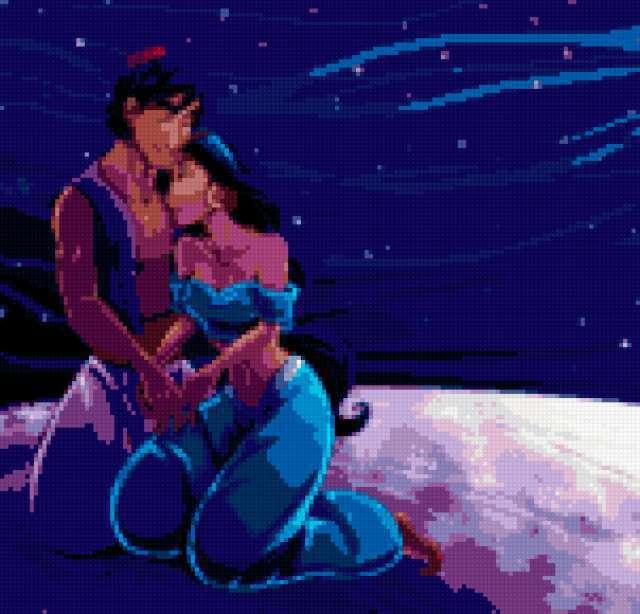 Жасмин и Алладин,