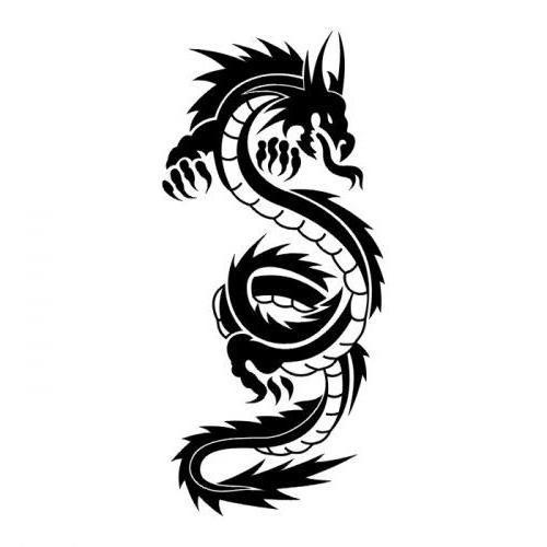 Tattoo Dragon, тату, дракон,