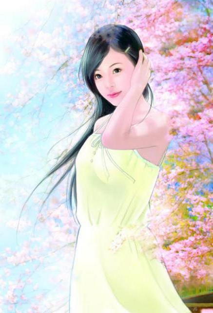 Весна картина живопись абстракция
