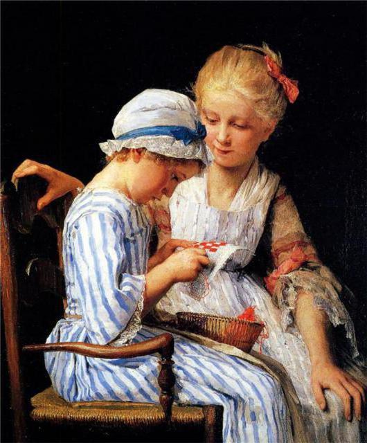 Рукодельницы, девочки