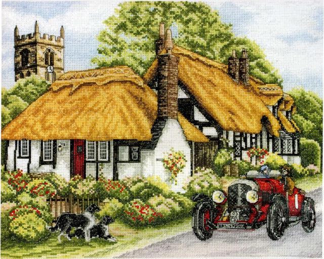 Английский пейзаж, оригинал