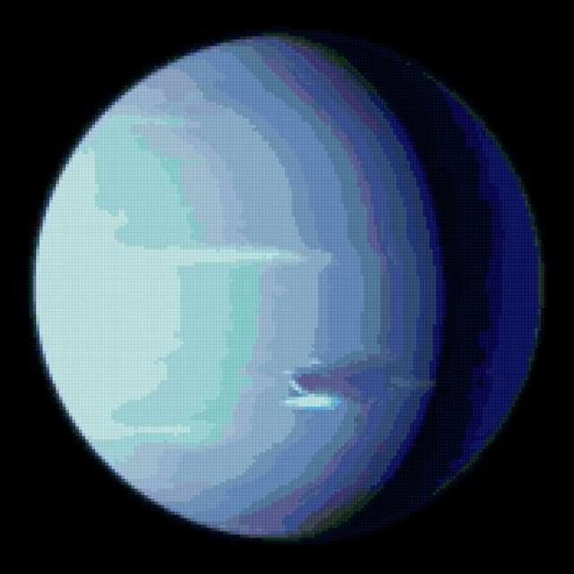 Планета Нептун, предпросмотр