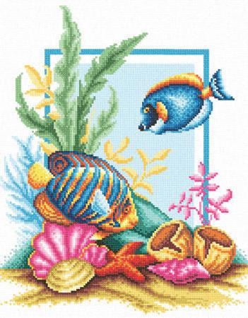 Вышивка крестом аквариум схемы