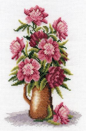 Пионы, натюрморт, цветы, букет