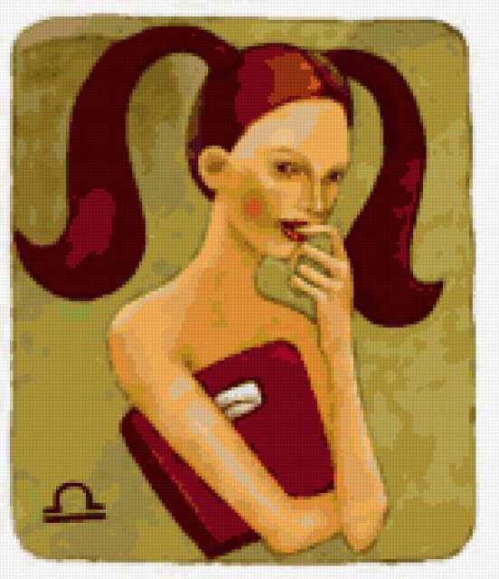 Девушка-Весы, предпросмотр