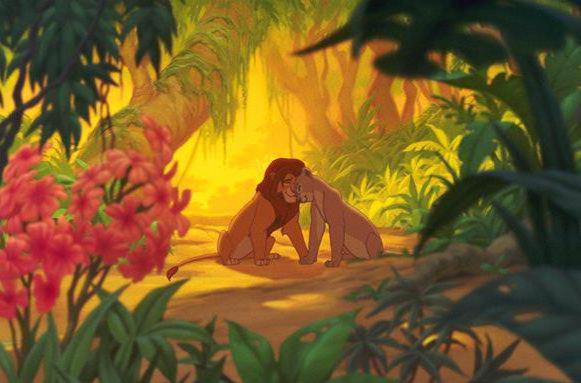 Король лев, мультик, животные,