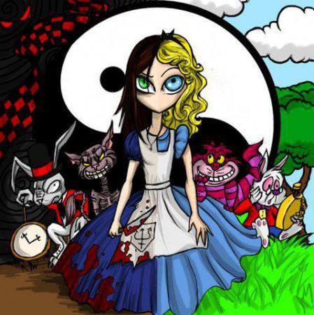 Алиса в стране чудес, мультик,