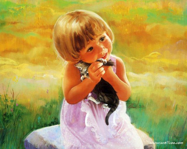 Маленькая девочка, ребенок