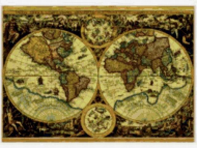 Историческая карта мира
