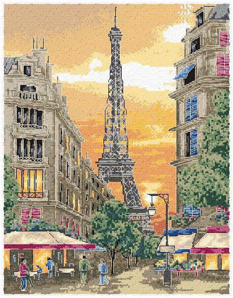 Чарующий париж париж город улочки