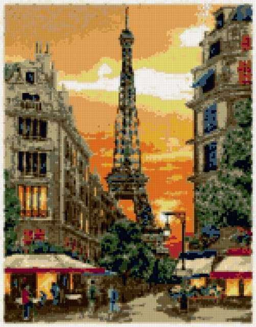Чарующий Париж, париж, город,