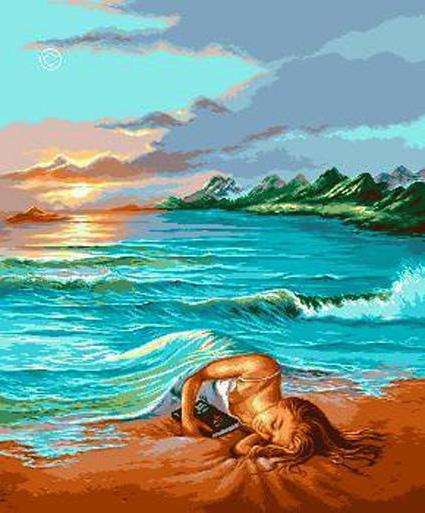 Море одеяло, оригинал