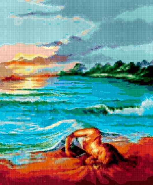 Море одеяло, предпросмотр