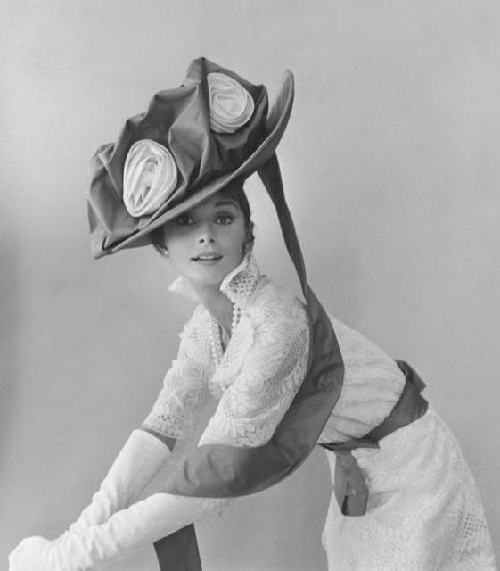 Одри Хепберн и ее шляпки,