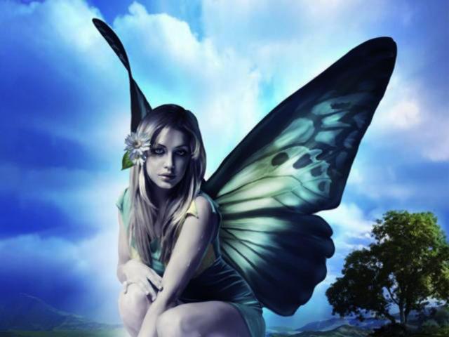 Фея бабочка, оригинал
