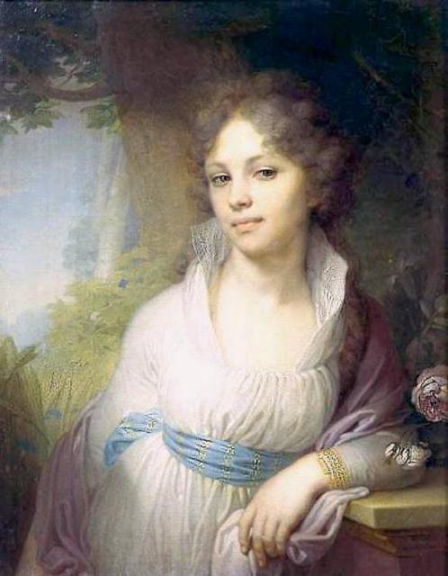 Портрет М.Лопухиной, оригинал