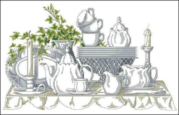 Чайный сервиз, оригинал