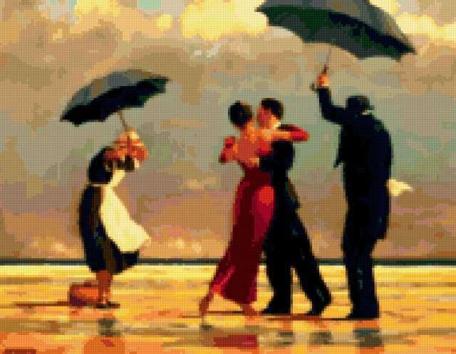 Танец под дождем, предпросмотр