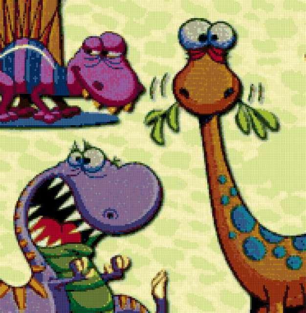 дракоши, динозавры,