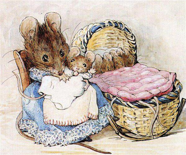 Пела ночью мышка в норке..,
