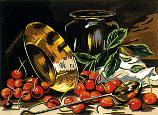 ягоды, для кухни, картина,