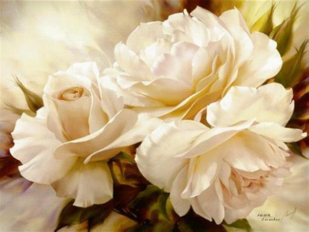 Облако белых роз, оригинал