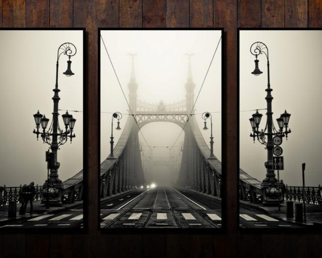 Триптих Мост, оригинал