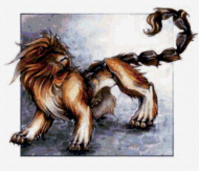 Лев-скорпион, предпросмотр