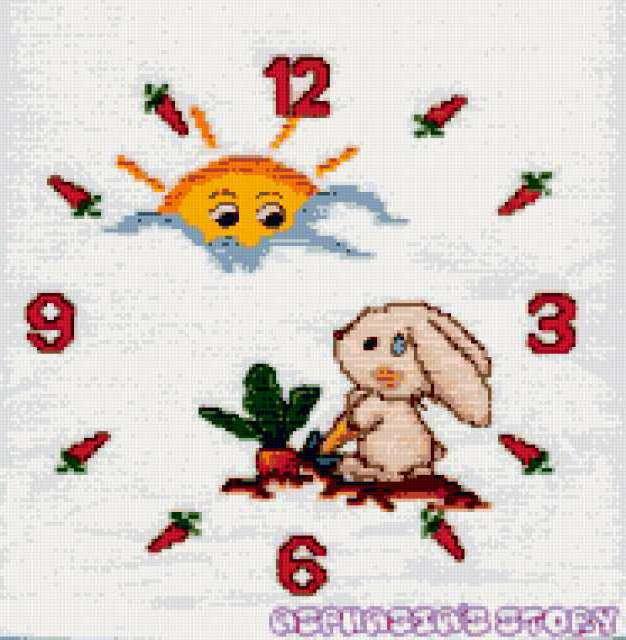 Детские часы, предпросмотр