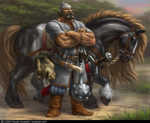 Богатырь, богатырь, конь