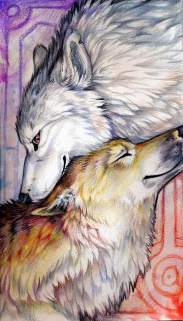 Нежность 2, волки, пара