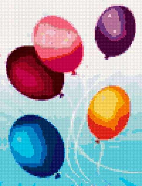 Воздушные шарики, предпросмотр