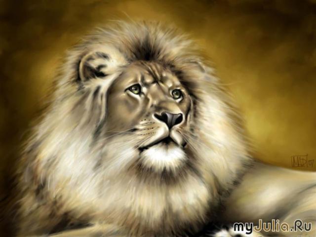 Благородный лев, оригинал