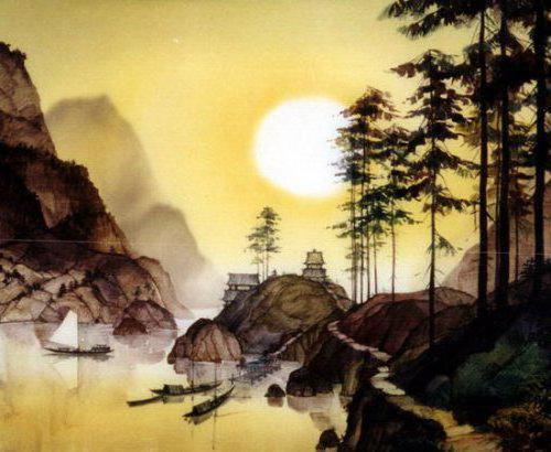 Китай, пейзаж, природа, лето