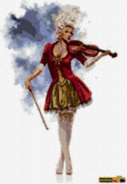 Скрипачка, предпросмотр