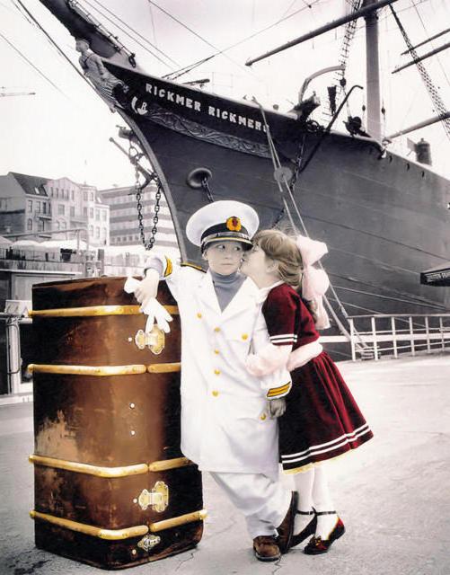 Я-морячка,ты-моряк...,